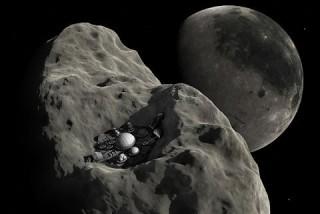 소행성 '2011 UW158'의 상상도. - NASA 제공